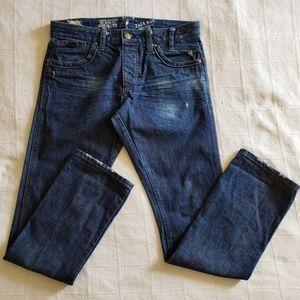 ZARA MAN Young Division Men's Distressed Jeans EUC